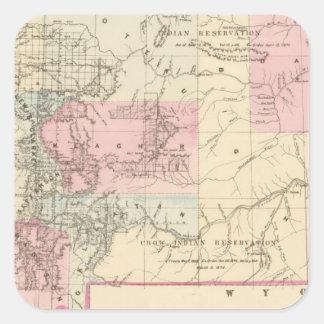 Montana 2 square sticker