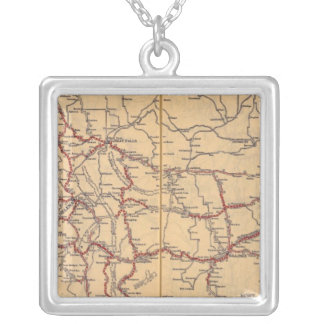 Montana 4 silver plated necklace