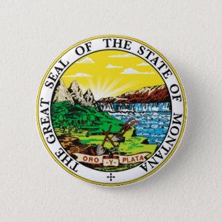 Montana 6 Cm Round Badge