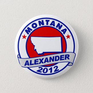 Montana Alexander 6 Cm Round Badge