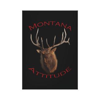 Montana Attitude Canvas Print
