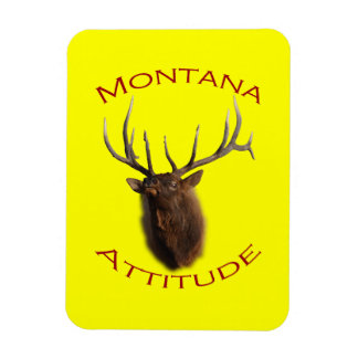 Montana Attitude Rectangular Photo Magnet