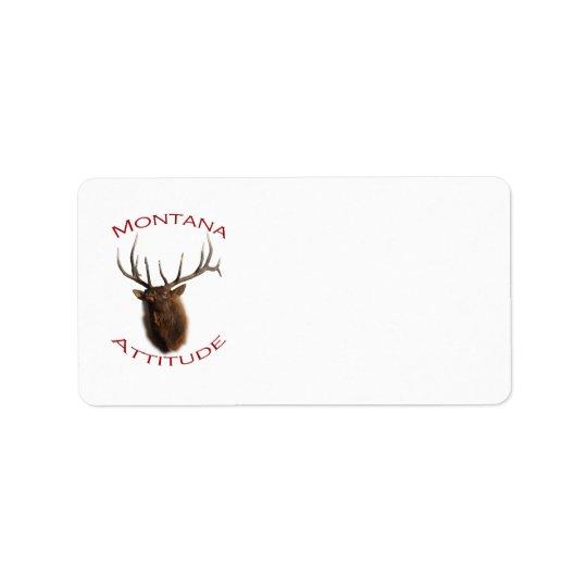 Montana Attitude Label