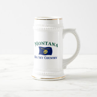 Montana Big Sky Country Beer Stein