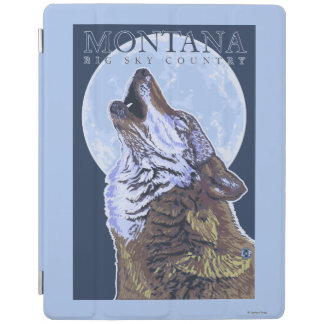 Montana -- Big Sky CountryHowling Wolf iPad Cover