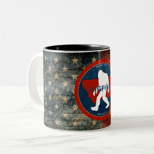 Montana Bigfoot Project Flag Coffee Mug