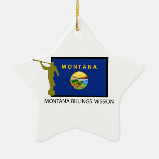 MONTANA BILLINGS MISSION LDS CTR CHRISTMAS ORNAMENT