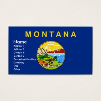 MONTANA Business Cards