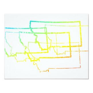 montana chill blur 11 cm x 14 cm invitation card