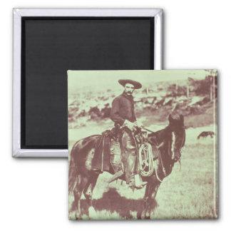 Montana Cowboy, c.1880 (b/w photo) Magnet