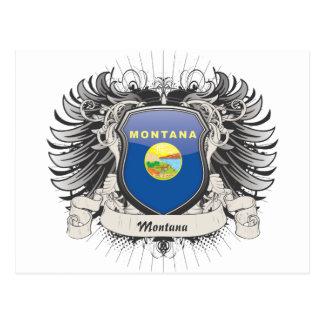 Montana Crest Post Card