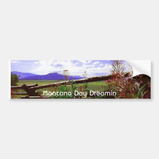 Montana Day Dreamin Bumper Sticker