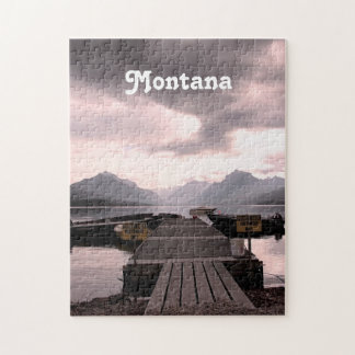 Montana Dusk Jigsaw Puzzle