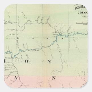 Montana east square sticker