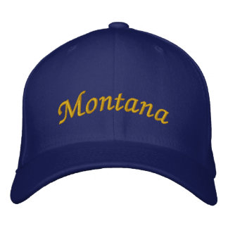 Montana Embroidered Hat
