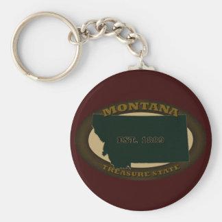 Montana Est. 1889 Key Chains
