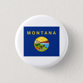 Montana FLAG International 3 Cm Round Badge