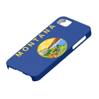 Montana Flag iPhone 5 Case