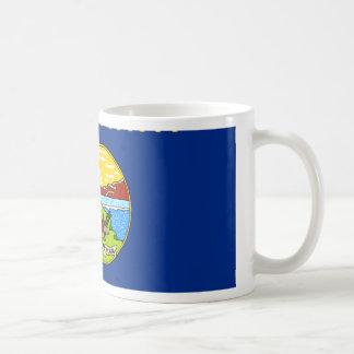 Montana Flag Map Mug