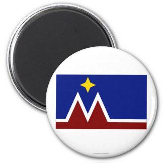 Montana Flag Proposal Fridge Magnets