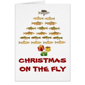 Montana Fly Fishing Christmas Card