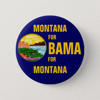 MONTANA FOR OBAMA Button