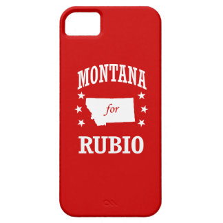 MONTANA FOR RUBIO iPhone 5 CASE