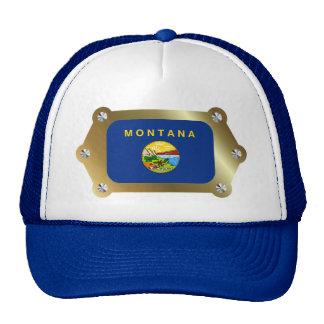 Montana framed Flag Hat
