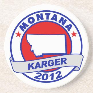 Montana Fred Karger Coaster