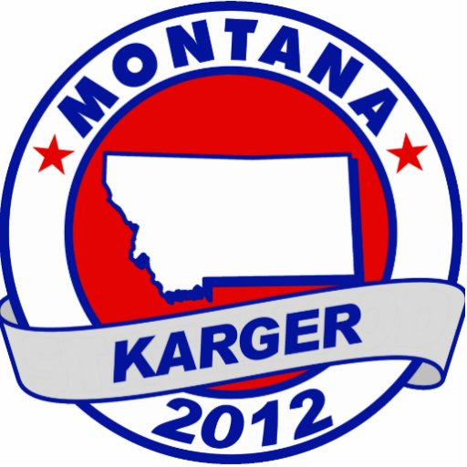 Montana Fred Karger Acrylic Cut Out