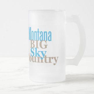 MONTANA FROSTED GLASS MUG