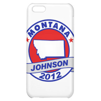 Montana Gary Johnson Cover For iPhone 5C