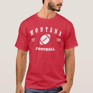 Montana Gridiron Retro Logo T-Shirt