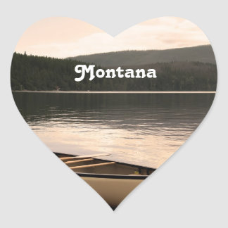 Montana Heart Sticker