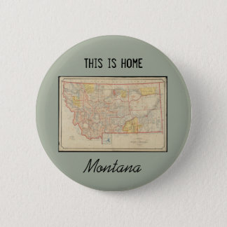 Montana Home 6 Cm Round Badge