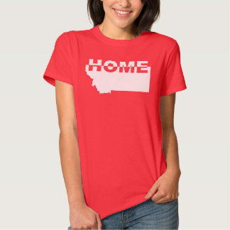 Montana Home Away From State T-Shirt Tees