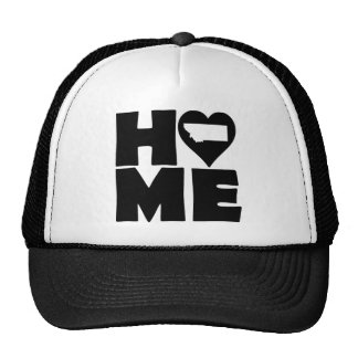 Montana Home Heart State Ball Cap Trucker Hat
