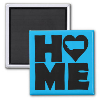 Montana Home Heart State Fridge Magnet