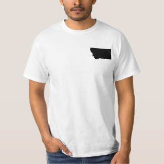 Montana in Black and White T-Shirt