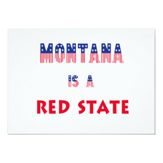Montana is a Red State Announcements