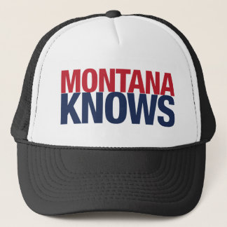 Montana Knows Trucker Hat