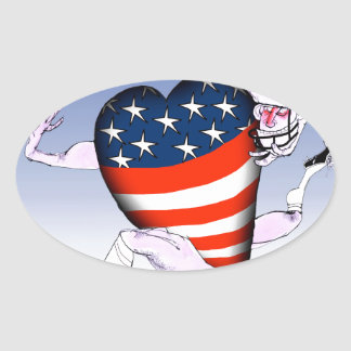 montana loud and proud, tony fernandes oval sticker
