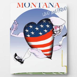 montana loud and proud, tony fernandes plaque