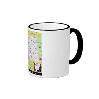 Montana Map Mug