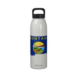 MONTANA MAP DRINKING BOTTLE