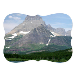 Montana Mountains 5x7 Paper Invitation Card