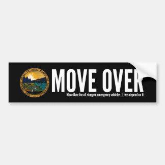 Montana Move Over Bumper Sticker