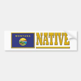 Montana Native Bumper Sticker