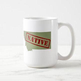 Montana Native with Montana Map Mug