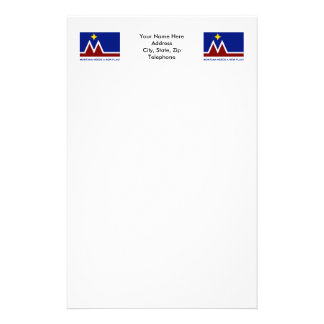 Montana Needs a New Flag Stationery Design